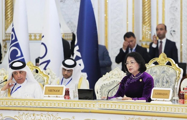 Vice President attends fifth CICA in Tajikistan hinh anh 1