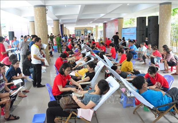 Voluntary blood donation festival takes place in Da Nang hinh anh 1