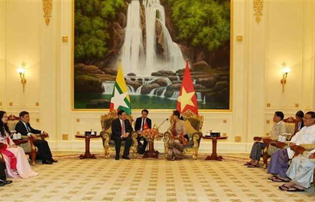 Deputy PM: Vietnam supports Myanmar in national development hinh anh 1