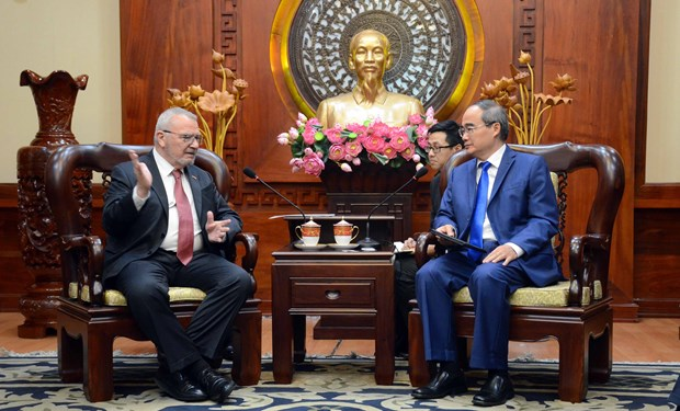 HCM City, US seek to boost ties in human resources development hinh anh 1