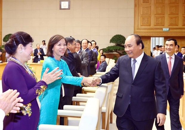 PM highlights development potential of private economic sector hinh anh 1