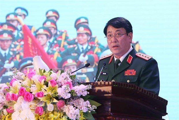 Vietnam's army delegation pays official visit to Russia, Belarus hinh anh 1
