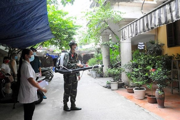 Hanoi in peak season for dengue fever hinh anh 1