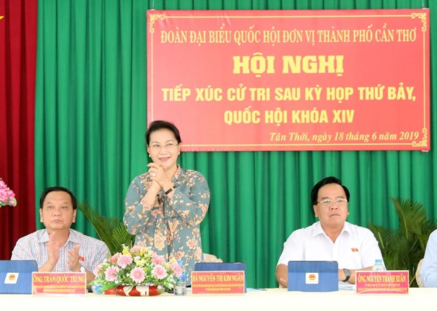 NA works to deal with voters' concerns promptly: Chairwoman hinh anh 1