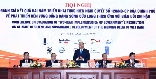 Mekong Delta should shift towards adapting to climate change: PM hinh anh 1