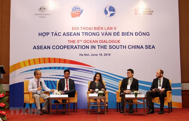 Fifth Ocean Dialogue talks ASEAN cooperation in East Sea hinh anh 1