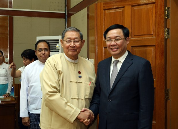 Vietnam becomes ninth largest trade partner of Myanmar hinh anh 1