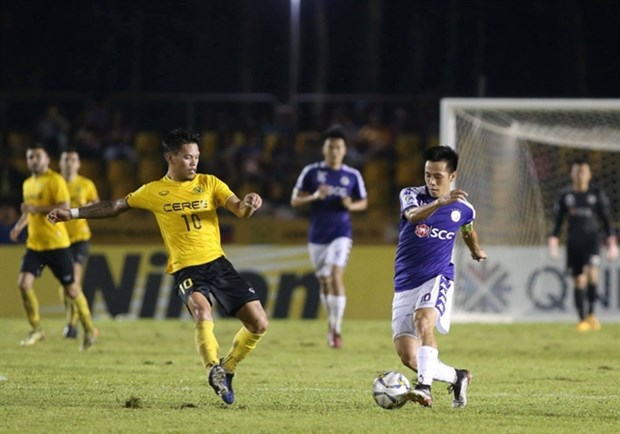 Hanoi FC draw with Ceres Negros in AFC Cup hinh anh 1