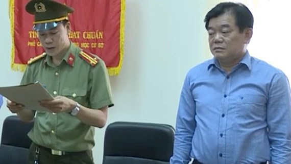 Disciplinary measures decided for two senior officials hinh anh 1