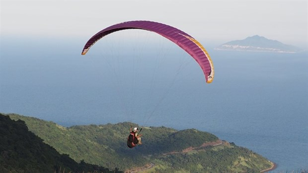 Paragliders to fly over Ly Son Island hinh anh 1