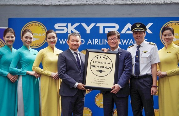 Vietnam Airlines gets 4-star airline rating for fourth consecutive year hinh anh 1