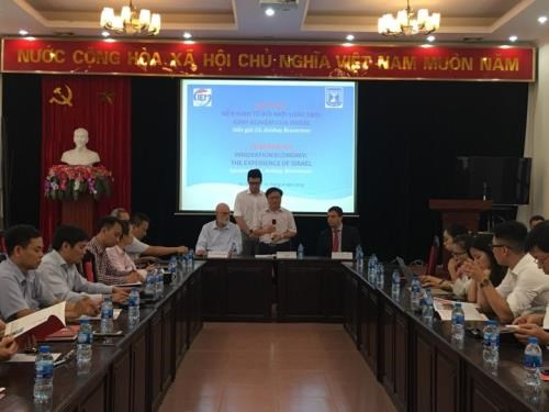 Vietnam, Israel share experience in innovation hinh anh 1