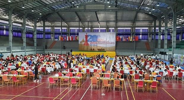 Vietnam triumph at regional chess tournament hinh anh 1