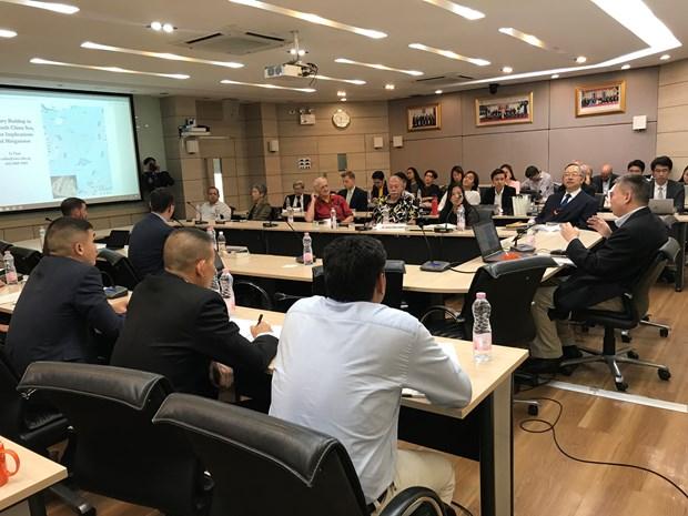 Bangkok seminar urges finalisation of COC in East Sea hinh anh 1