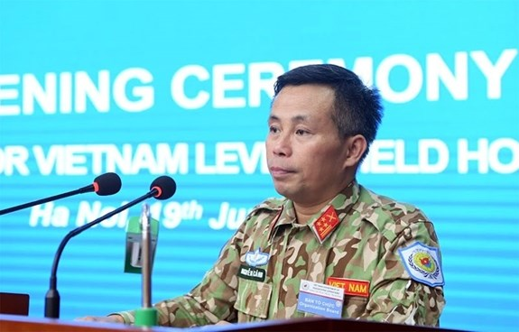 Training launched for staff of military level-2 field hospital No.2 hinh anh 1