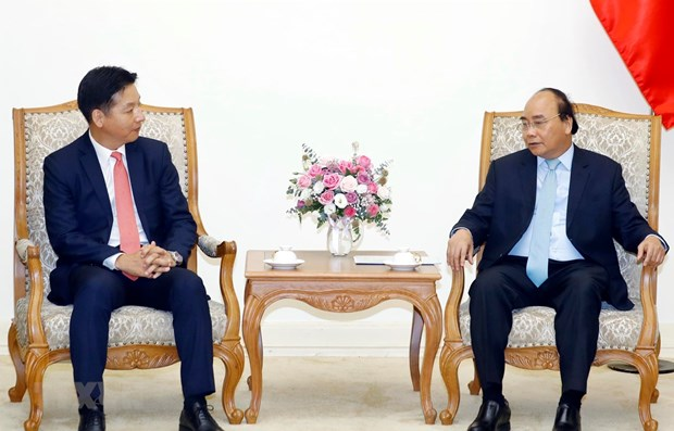 PM lauds Japanese retail giant AEON's activities in Vietnam hinh anh 1