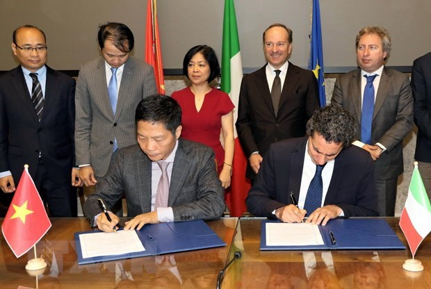 Vietnam, Italy seek stronger economic, trade partnership hinh anh 1