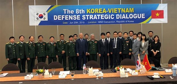 Vietnam, RoK hold defence policy dialogue hinh anh 1