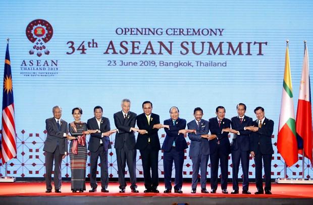 34th ASEAN Summit opened in Bangkok hinh anh 1