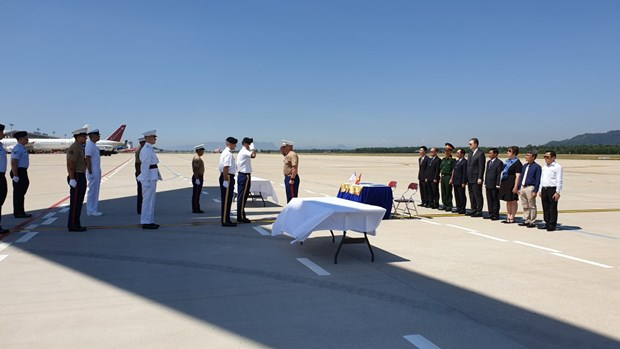 Suspected remains of missing US soldier repatriated hinh anh 1