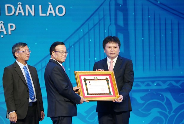 LaoVietBank helps connect Vietnamese, Lao economies hinh anh 1