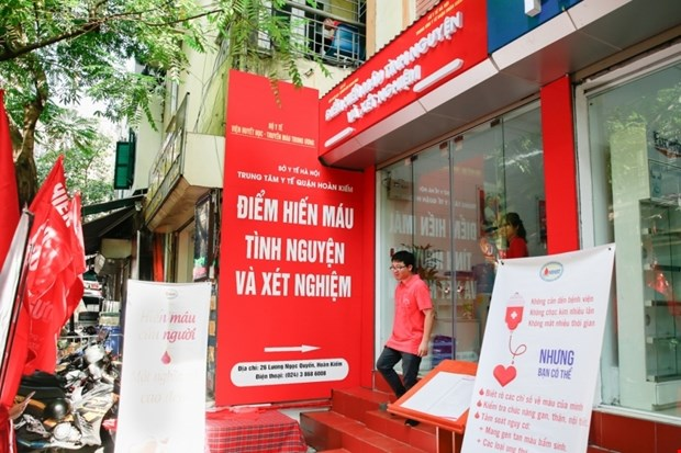 Hanoi's first fixed blood donation site opens hinh anh 1