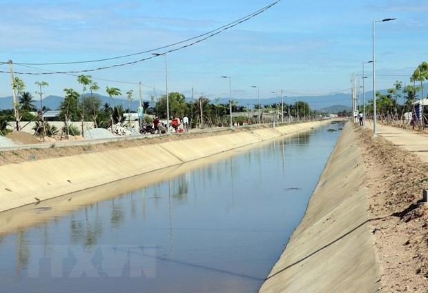 Belgium funds upgrade of Cau Ngoi canal in Ninh Thuan hinh anh 1