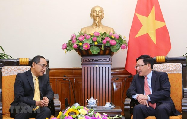 Deputy PM receives Thai Ambassador hinh anh 1