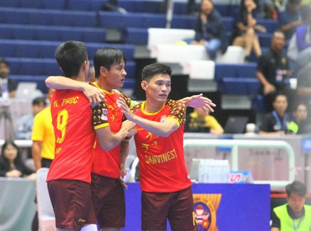 SS Khanh Hoa brings home AFF Futsal Cup silver hinh anh 1