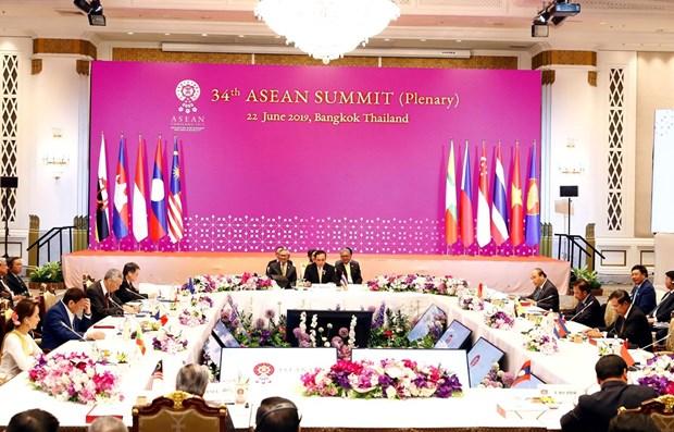 Thai PM announces outcomes of 34th ASEAN Summit hinh anh 1