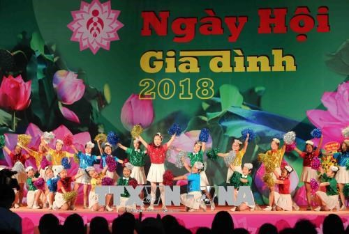 Festival honours Vietnamese family's traditional value hinh anh 1