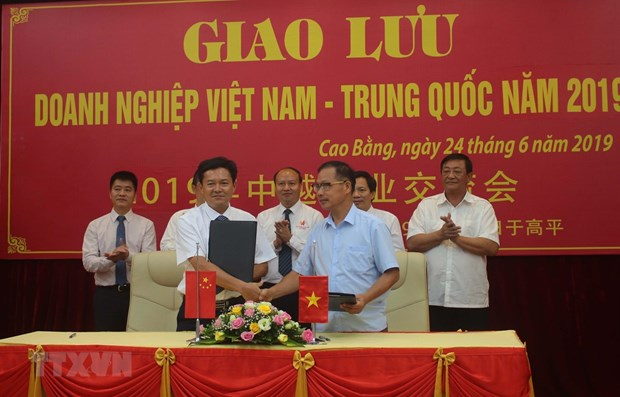Cao Bang, Chinese locality look to boost border trade linkage hinh anh 1