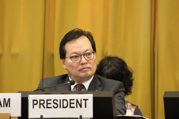 Vietnam chairs plenary of Conference on Disarmament hinh anh 1