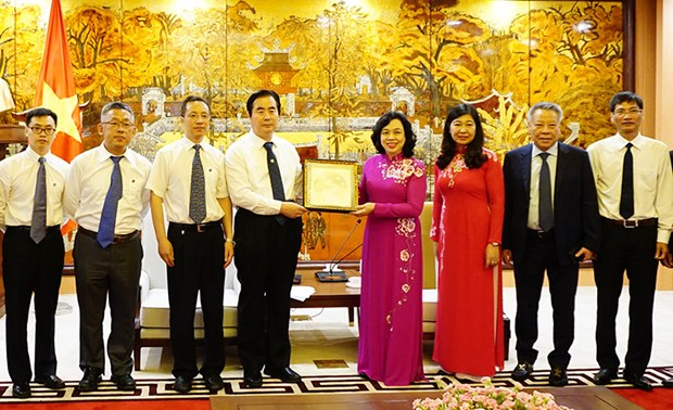 Hanoi enhances collaboration with Beijing hinh anh 1