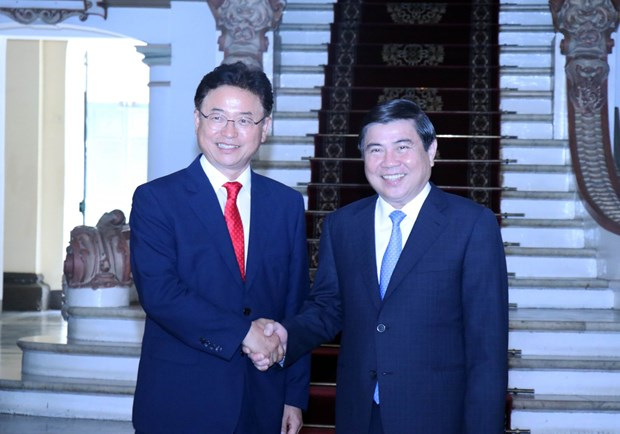 HCM City, RoK province to reinforce cooperation hinh anh 1