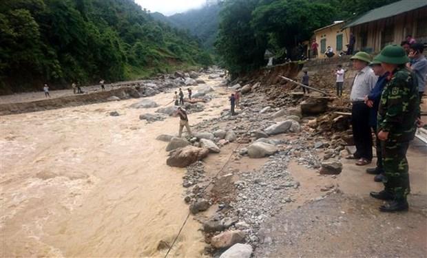 Heavy rain, floods wreak havoc in northern mountainous localities hinh anh 1