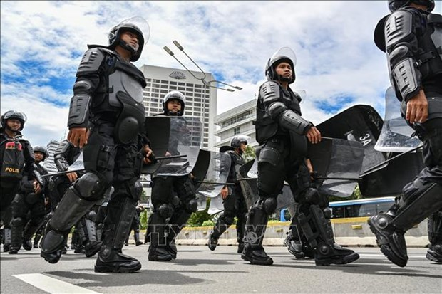 Indonesia to deploy 47,000 security personnel for election dispute hinh anh 1