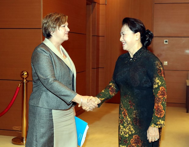 Top legislator hails UNICEF's support of child protection in Vietnam hinh anh 1