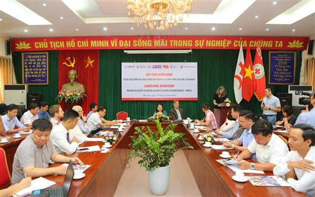 Project assists central provinces in coping with natural disasters hinh anh 1