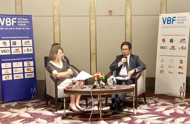 Mid-term VBF to feature businesses' role in rapid, sustainable development hinh anh 1