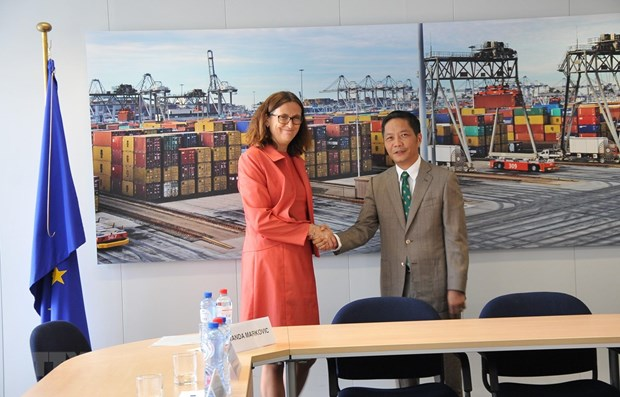 Vietnam, EU to sign EVFTA on June 30 in Hanoi hinh anh 1