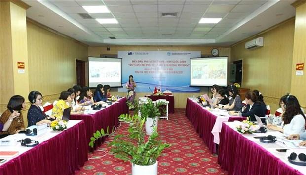 Vietnam, RoK's forum discusses safety for women, children hinh anh 1