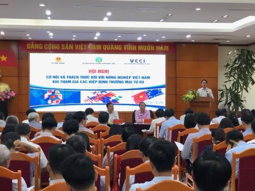 FTAs generate opportunities, challenges to Vietnam's agriculture hinh anh 1