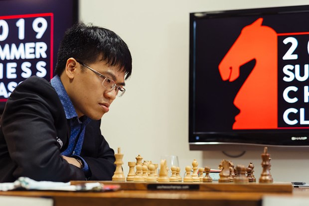 Vietnamese Grandmaster has first win at Summer Chess Classic hinh anh 1