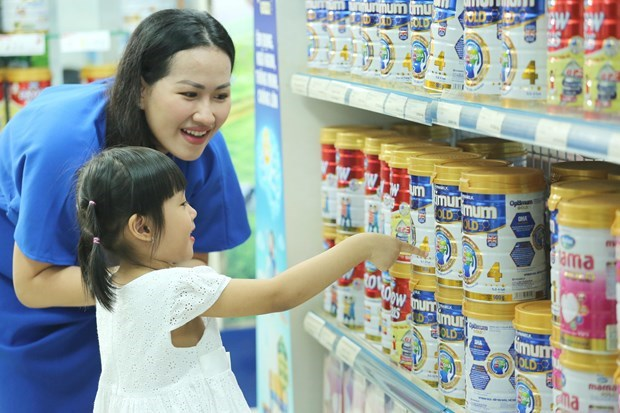Vinamilk's organic products impress Global Dairy Congress hinh anh 1
