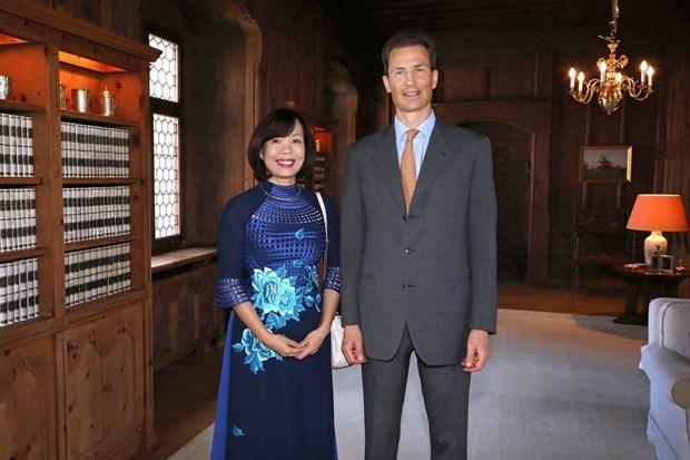Hereditary Prince of Liechtenstein hails Vietnam's growing role hinh anh 1