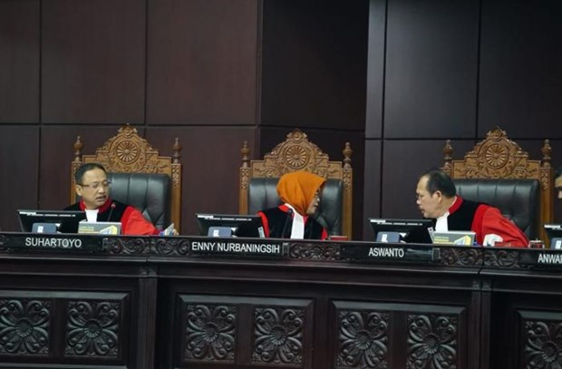 Indonesia court rejects appeal against presidential election result hinh anh 1