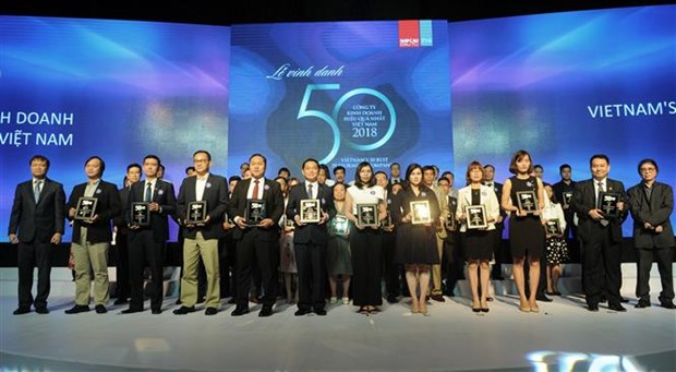 Vietnam's 50 best-performing firms announced hinh anh 1