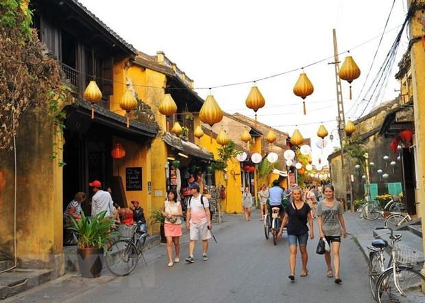 Close to 8.5 million foreigners visit Vietnam in first half hinh anh 1