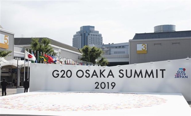 14th G20 Summit opens in Osaka hinh anh 1